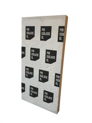 PIR vloer isolatieplaat 40mm. dik | Afmeting 600mm x 1200mm