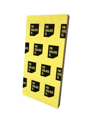PIR dak isolatieplaat 80mm. dik | Afmeting 600mm x 1200mm